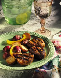 Grilled Pork Tenderloin Medallions