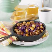 Bratwurst Skillet Breakfast