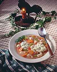 Chicken and Dumplings Stew
