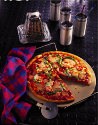 Quick and Hearty Pizza