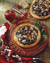 Waldorf Appetizer Pizzas