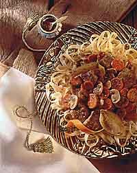 Pasta Bourguignonne