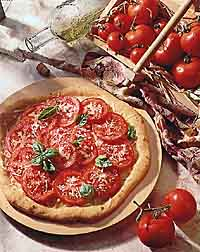Fresh Tomato Pizza