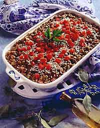 Savory Lentil Casserole