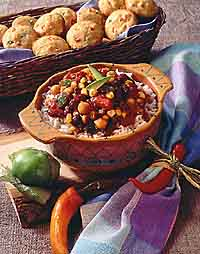 Southwest Bean Chili