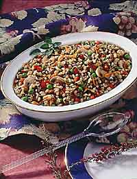 Barley and Wild Rice Pilaf