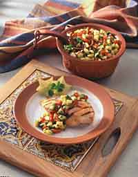 Red Pepper and Papaya Salsa