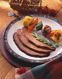 Spice-Rubbed Beef Brisket