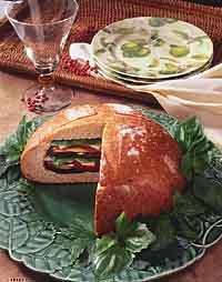 Grilled Vegetable Muffuletta