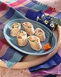 Chicken Tortilla Roll-Ups