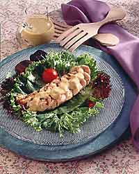 Grilled Chicken au Poivre Salad