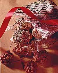 Cocoa Hazelnut Macaroons