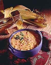 Double Corn & Cheddar Chowder