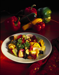 Santa Fe Grilled Vegetable Salad