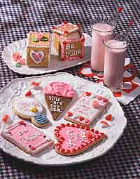 Top to bottom: Valentine Surprise, Valentine's Day Cookie Cards