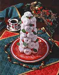 Doughnut Christmas Tree Centerpiece