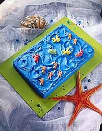 School-of-Fish Cake