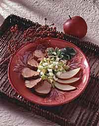 Grilled Pork Tenderloin With Apple Salsa
