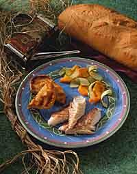 Mediterranean Grilled Snapper