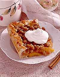 Crunch Peach Cobbler