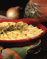 Scalloped Potatoes and Parsnips