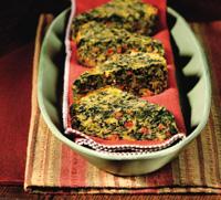 Spinach Spoon Bread