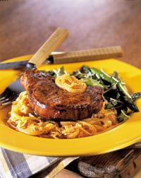 Pork Chop Paprikash
