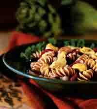 Italian Artichoke and Rotini Salad