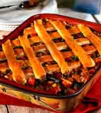 Zesty Turkey Pot Pie