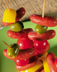 Colorful Kabobs