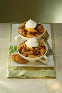 Peach-Ginger Crumble