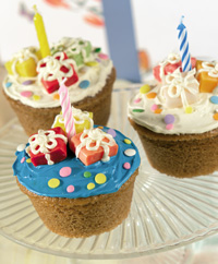 Surprise Package Cupcakes