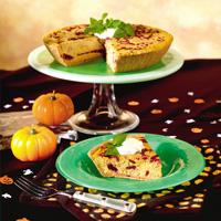 Cranberry Swirl Pumpkin Cheesecake