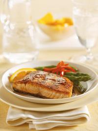 Orange-Glazed Salmon