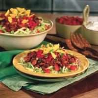 Salsa Beef Salad