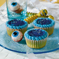 Blue Goo Cupcakes