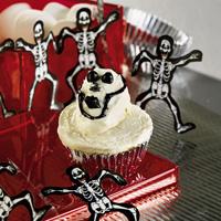 Skull Cupcakes