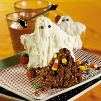 Popcorn Ghosts and Chocolate Goblins