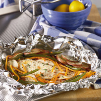 Fast Catfish in Foil