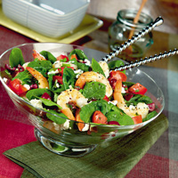 Mediterranean Shrimp and Feta Spring Salad