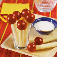 Cherry Tomato Pops