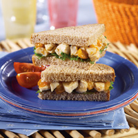 Apricot Chicken Sandwiches