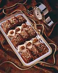 Double Chocolate-Creme Fudge and Sour Cream Fudge