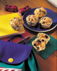 Snacking Surprise Muffins
