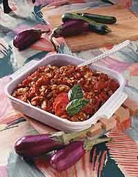 Zucchini-Tomato Bake