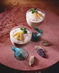 Tropical Frozen Mousse