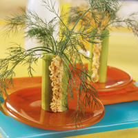 Salmon Celery Trees