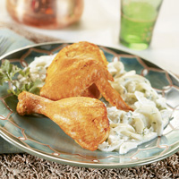 Indian-Inspired Chicken with Raita