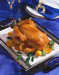 Orange 'n' Onion Roast Chicken