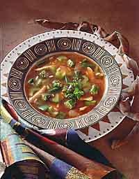 Cajun-Style Chicken Soup